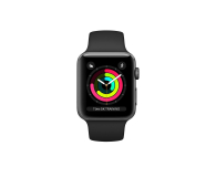 Apple Watch 3 42/Space Gray/Black Sport GPS - 516123 - zdjęcie 2