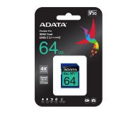 ADATA 64GB Premier Pro U30 V30S - 512455 - zdjęcie 2