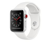 Apple Watch 3 42/Silver/White Sport LTE - 516127 - zdjęcie 1