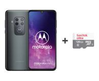 Motorola One Zoom 4/128GB DS Electric Gray + etui + 128GB - 515734 - zdjęcie 1
