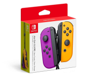 Nintendo Joy-Con Controller - Neon Purple/Orange (pair) - 516737 - zdjęcie 2