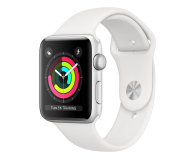 Apple Watch 3 38/Silver Aluminium/White GPS  - 467652 - zdjęcie 1