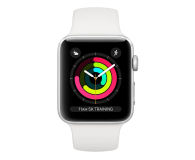 Apple Watch 3 38/Silver Aluminium/White GPS  - 467652 - zdjęcie 2