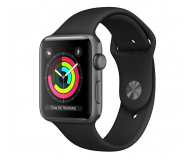 Apple Watch 3 38/Space Gray Aluminium/BlackSport GPS  - 464941 - zdjęcie 1