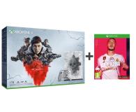Microsoft Xbox One X 1TB Limited Ed. + GoW 5 + Fifa 20 - 518523 - zdjęcie 1