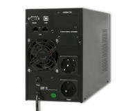 Qoltec Monolith (1000VA/800W, FR, Schuko, USB, LCD) - 485357 - zdjęcie 2
