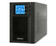 Qoltec Monolith (1000VA/800W, FR, Schuko, USB, LCD) - 485357 - zdjęcie 1