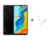 Huawei P30 Lite 128GB Czarny + FreeBuds Lite białe  - 513705 - zdjęcie 1