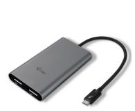 i-tec Adapter Thunderbolt3 - 2x DisplayPort - 518364 - zdjęcie 1