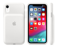 Apple Smart Battery Case do iPhone Xr biały - 514105 - zdjęcie 1