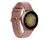 Samsung Galaxy Watch Active 2 Stal Nierdzewna 40mm Gold - 514533 - zdjęcie 1