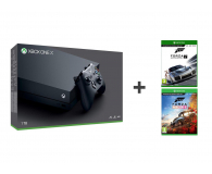 Microsoft Xbox One X 1TB+ FORZA HORIZON 4+Motosport 7 - 436905 - zdjęcie 1