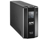 APC Back-UPS Pro (650VA/390W, 6xIEC, RJ-45, AVR, LCD) - 520166 - zdjęcie 3