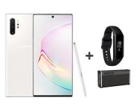Samsung Galaxy Note 10+ white +Creative iRoar Go+ Fit e - 539475 - zdjęcie 1