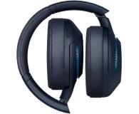 Sony WH-XB900N Niebieskie ANC - 540150 - zdjęcie 2