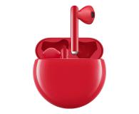 Huawei FreeBuds 3 czerwony - 539111 - zdjęcie 1