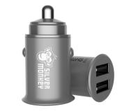Silver Monkey Ładowarka samochodowa 2x USB, 24W - 536250 - zdjęcie 1