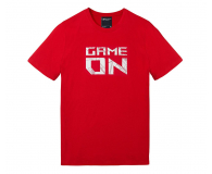 ASUS T-Shirt RED GAME ON (czerwony, L)
