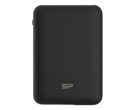 Silicon Power Power Bank 10000 mAh (2x USB, 2.1A, czarny) - 538430 - zdjęcie 1