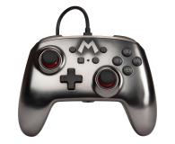 PowerA SWITCH Pad przewodowy Super Mario Silver - 597186 - zdjęcie 1