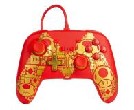 PowerA SWITCH Pad przewodowy Super Mario Golden M - 597184 - zdjęcie 1