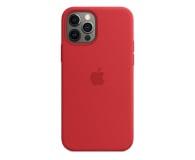 Apple Silikonowe etui iPhone 12 12Pro (PRODUCT)RED - 598778 - zdjęcie 1