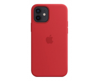 Apple Silikonowe etui iPhone 12 12Pro (PRODUCT)RED - 598778 - zdjęcie 2
