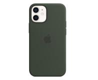 Apple Silikonowe etui iPhone 12 mini cypryjska zieleń - 598765 - zdjęcie 1