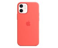 Apple Silikonowe etui iPhone 12 mini różowy cytrus - 598766 - zdjęcie 1