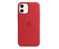 Apple Silikonowe etui iPhone 12 mini (PRODUCT)RED - 598769 - zdjęcie 1