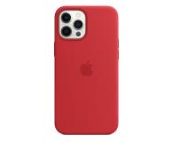 Apple Silikonowe etui iPhone 12 Pro Max (PRODUCT)RED - 598786 - zdjęcie 1
