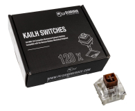 Glorious PC Gaming Race Kailh Box Brown Switches (120 szt.) - 595772 - zdjęcie 1