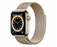 Apple Watch 6 40/Gold Steel/Gold Loop LTE - 594759 - zdjęcie 1