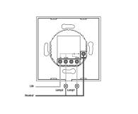 Hama Podwójny włącznik światła Wi-Fi  - 603133 - zdjęcie 3