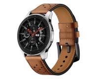 Tech-Protect Pasek Leather do smartwatchy brązowy - 605304 - zdjęcie 1