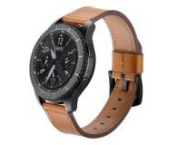 Tech-Protect Pasek Skórzany Herms do smartwatchy brązowy - 605280 - zdjęcie 1