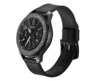 Tech-Protect Pasek Skórzany Herms do smartwatchy czarny - 605282 - zdjęcie 1