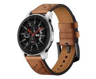 Tech-Protect Pasek Leather do smartwatchy brązowy - 605305 - zdjęcie 1