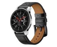 Tech-Protect Pasek Leather do smartwatchy czarny - 605302 - zdjęcie 1
