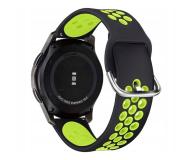 Tech-Protect Pasek Softband do smartwatchy black/lime - 605318 - zdjęcie 1