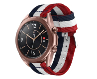 Tech-Protect Pasek Welling do smartwatchy navy/red - 605542 - zdjęcie 1