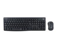 Logitech MK295 Silent Wireless grafitowy - 595519 - zdjęcie 1