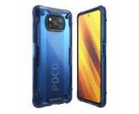 Ringke Fusion X do Xiaomi POCO X3/X3 Pro niebieski - 604863 - zdjęcie 1