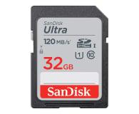 SanDisk 32GB SDHC Ultra 120MB/s C10 UHS-I - 609129 - zdjęcie 1