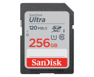 SanDisk 256GB SDXC Ultra 120MB/s C10 UHS-I - 609139 - zdjęcie 1