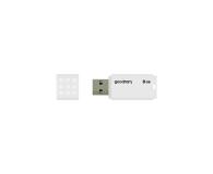 GOODRAM 8GB UME2 odczyt 20MB/s USB 2.0 biały - 606419 - zdjęcie 2