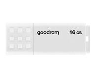 GOODRAM 16GB UME2 odczyt 20MB/s USB 2.0 biały - 606420 - zdjęcie 1