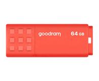 GOODRAM 64GB UME3 odczyt 60MB/s USB 3.0 pomarańczowy - 606354 - zdjęcie 1