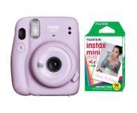 Fujifilm Instax Mini 11 purpurowy + wkłady (10 zdjęć) - 606750 - zdjęcie 1