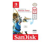 SanDisk 64GB microSDXC 100MB/s A1 V30 Nintendo Switch - 581870 - zdjęcie 3